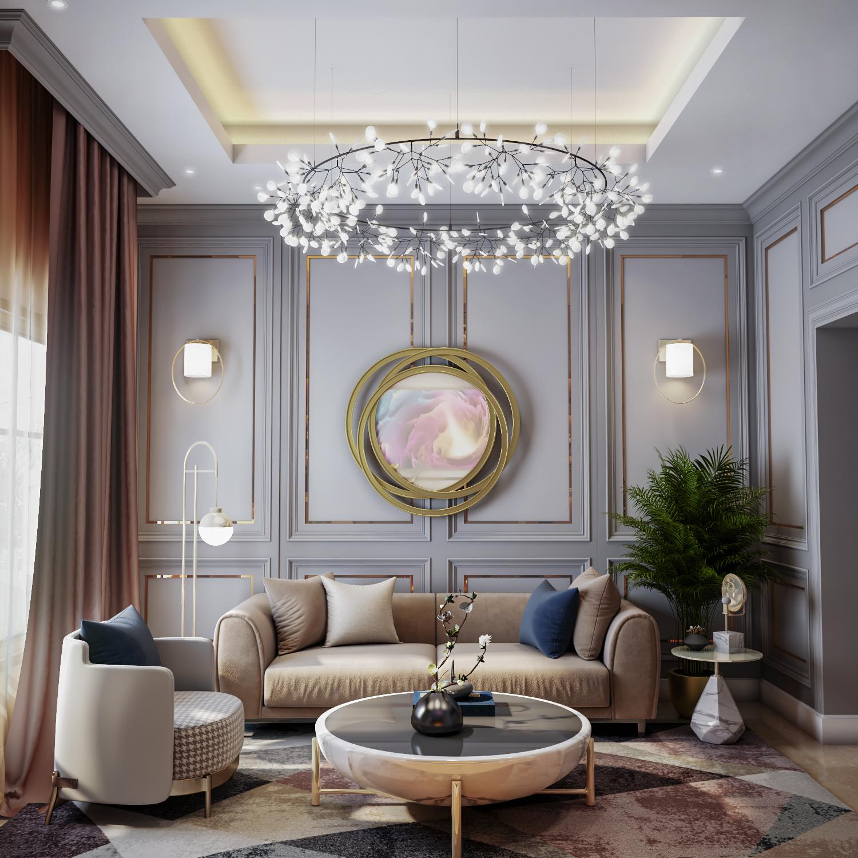 غرفة معيشة باللون الرمادي 10 Ideas For Living Room Design With Gray Color Living Room Designs Living Room Design Modern Floor Seating Living Room