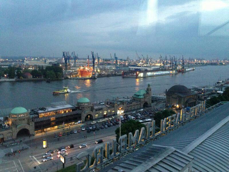 Hamburg Harbour :)
