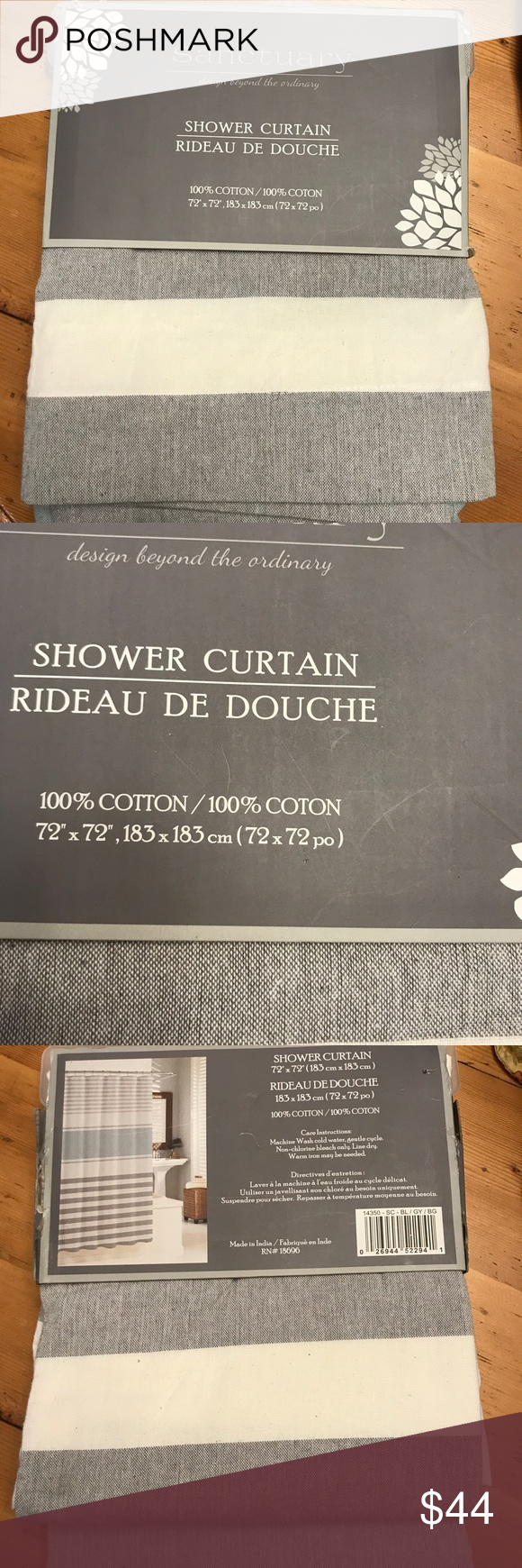 brand new sanctuary shower curtain