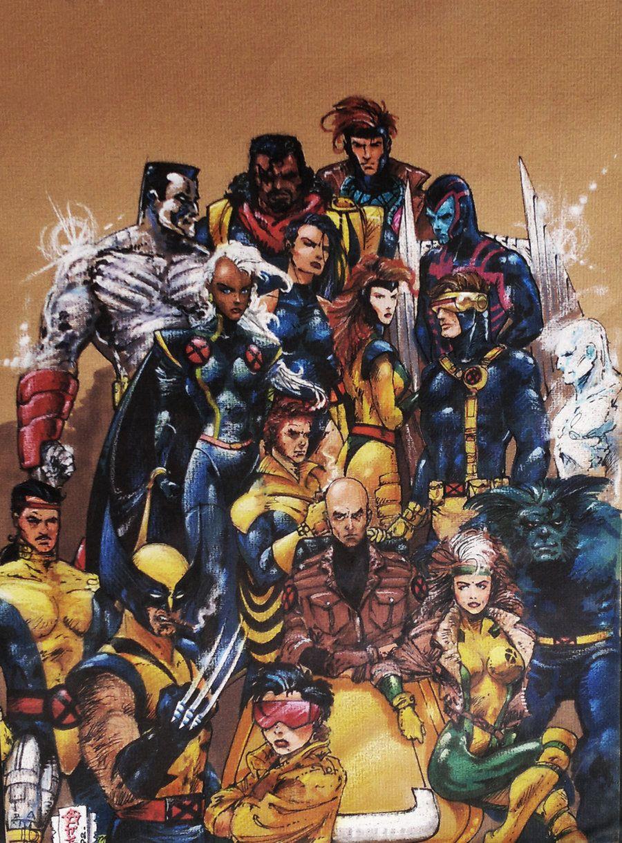 Alex Chung Xcyclopswasrightx X Men 92 Sketch By Marvel Secret Wars Xmen Art Marvel Art