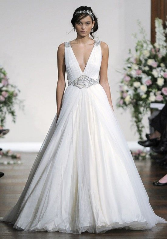 Grace and Glamour from Jenny Packham's Fall 2013 Bridal Collection