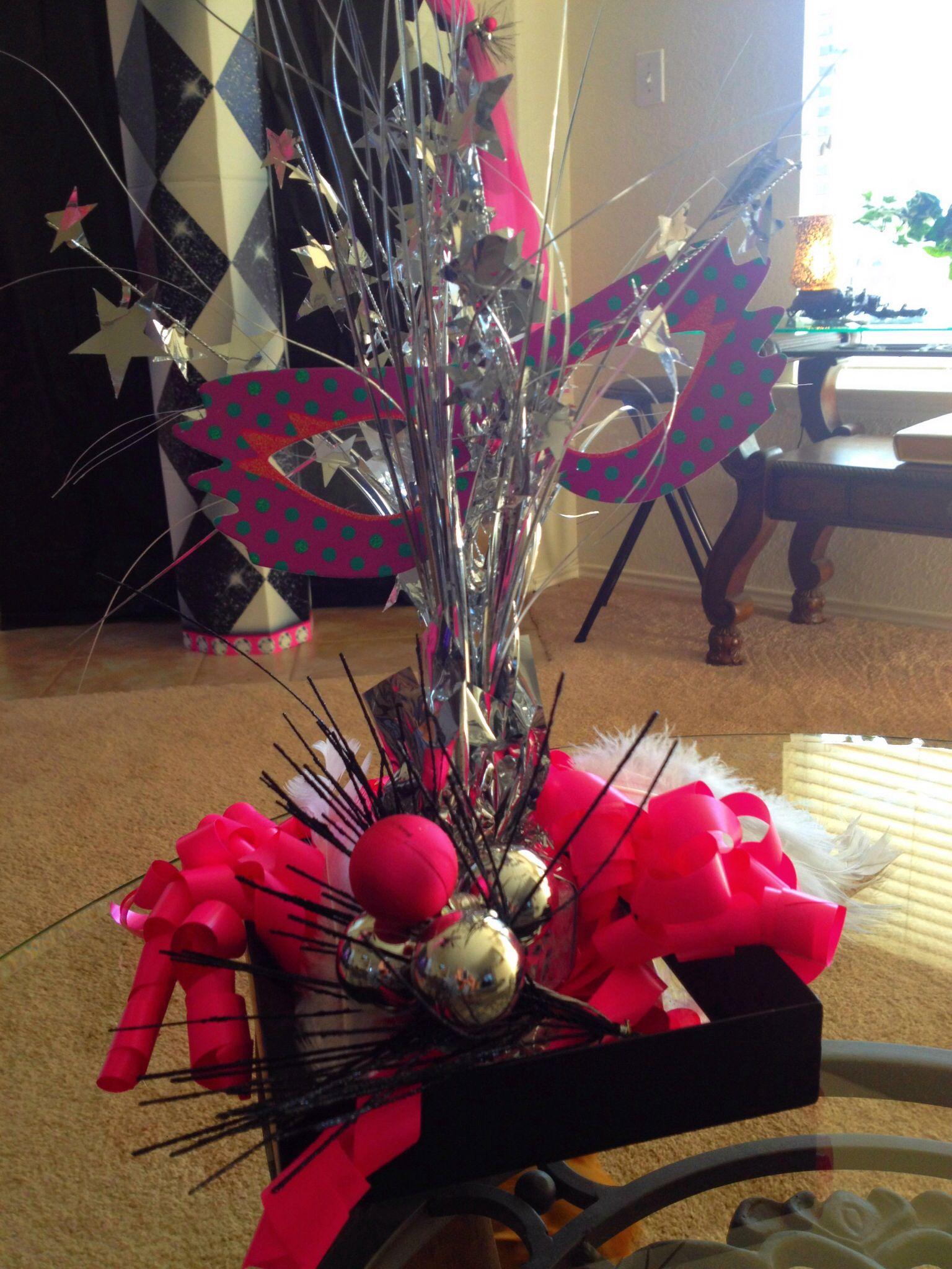 Diy Simple Masquerade Party Decorations Masquerade Party Ideas