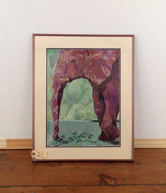 ForgetMeKnots Elephant Collage by KayceeAnseth on Etsy