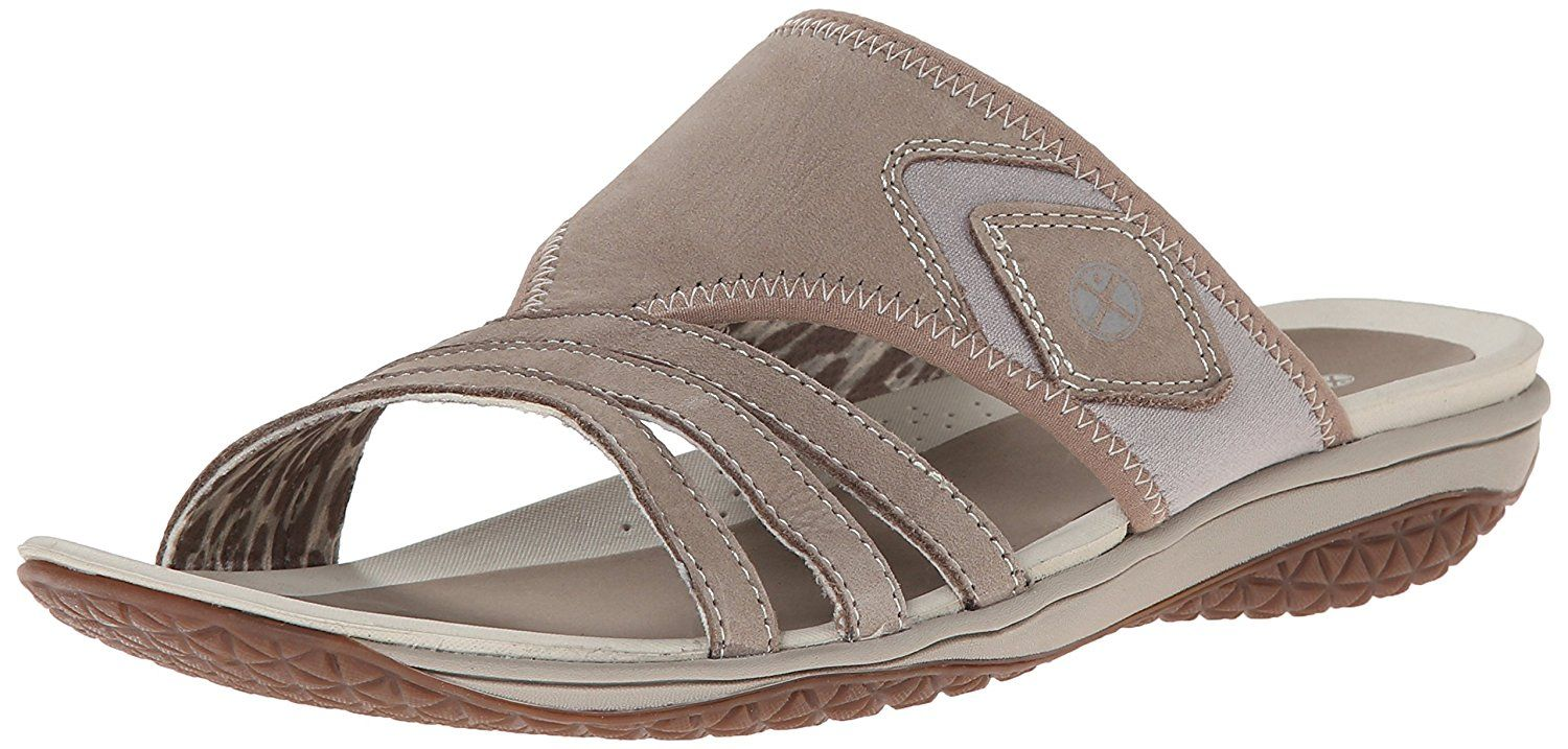 Hush Puppies Womens Beatrix Ione Dress Sandal Taupe Nubuck 75 M US -- You  can find more details by visiting the image link.