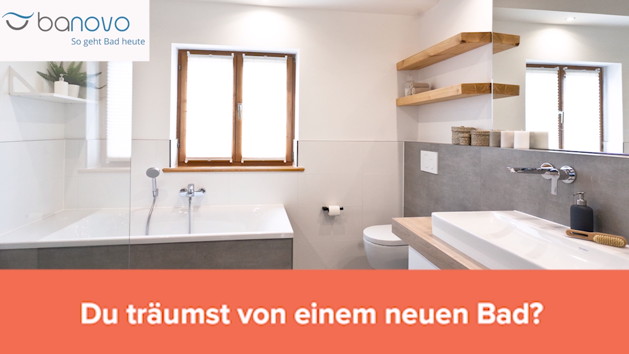 Banovo Transparenter Festpreis Maximale Sicherheit Video Neues Bad Badsanierung Badezimmer Design