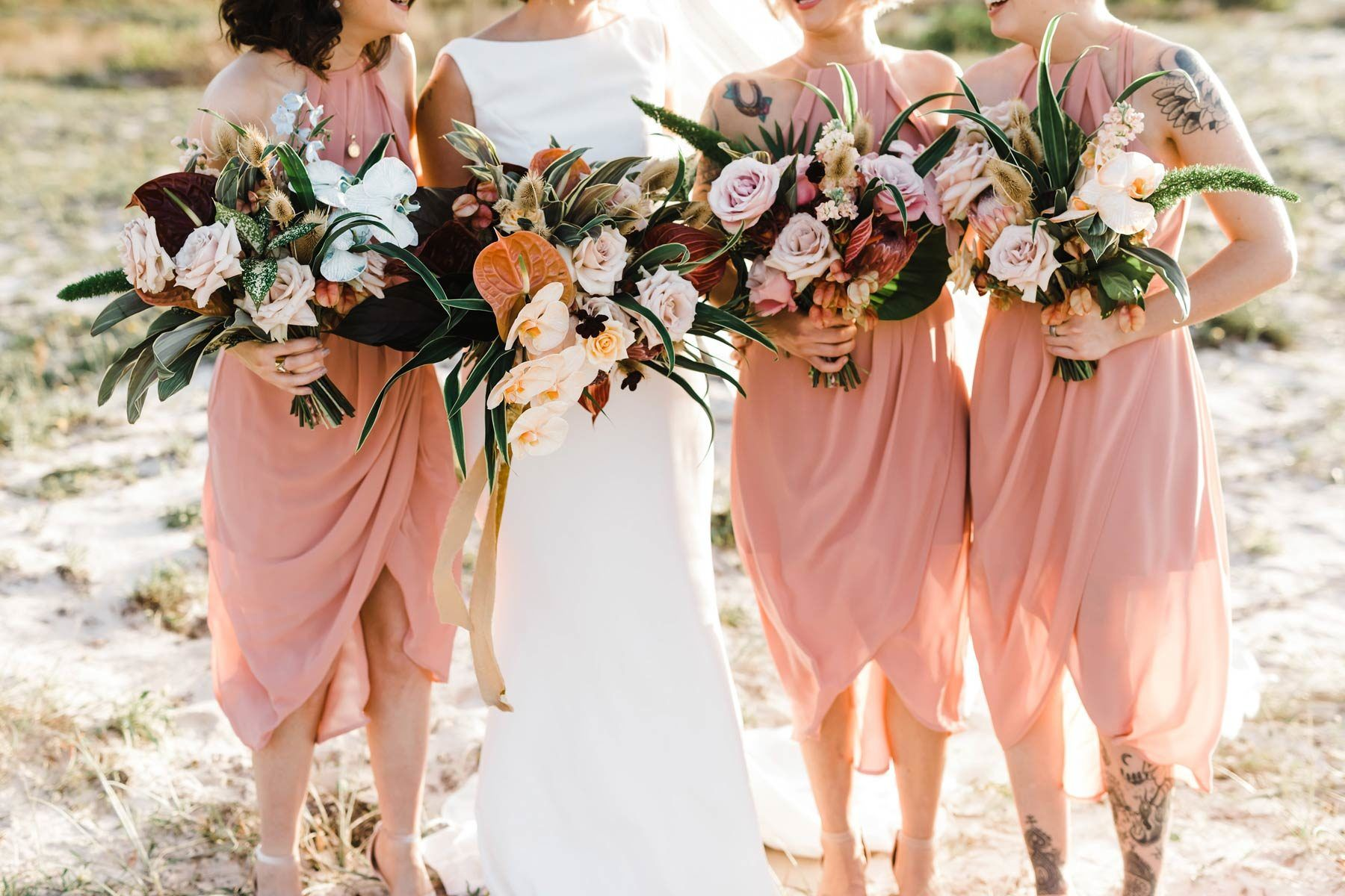 Melissa Harry S Lush Tropical Wedding In Port Stephens