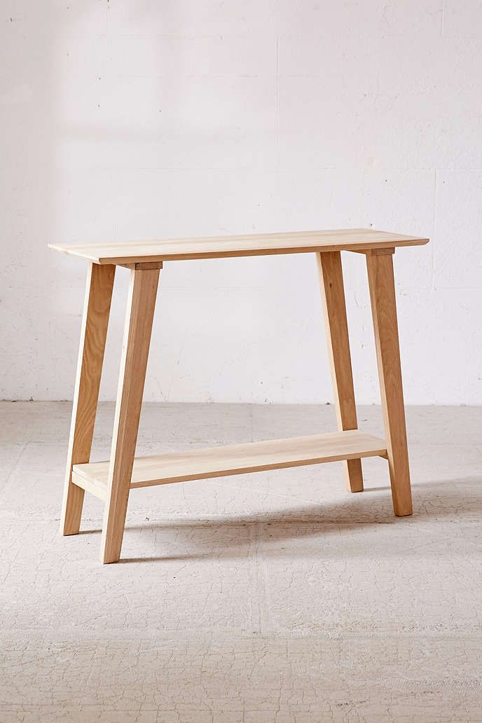 Simple Wood Console | Urban outfitters, Consoles and Spaces
