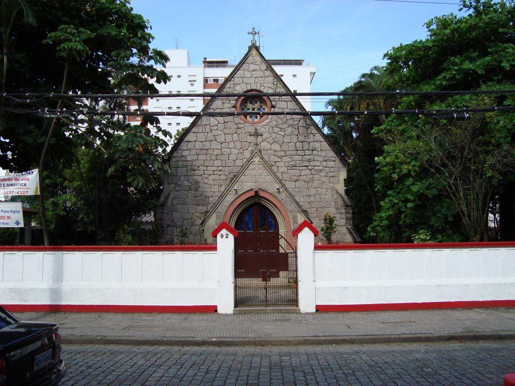 Igreja Anglicana, Praça Washington, 93 - José Menino - Cep. 11.065 ...