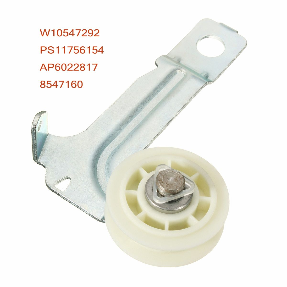 Dryer idler pulley assembly replacement w10547292