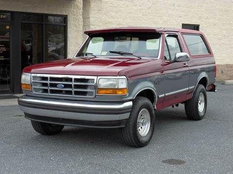 1993 Ford Bronco For Sale In Harrisonburg Va