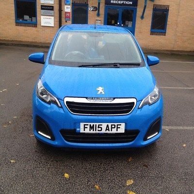 eBay: PEUGEOT 108 ACTIVE 2015 1.0 PETROL SEMI AUTOMATIC - DAMAGED ...