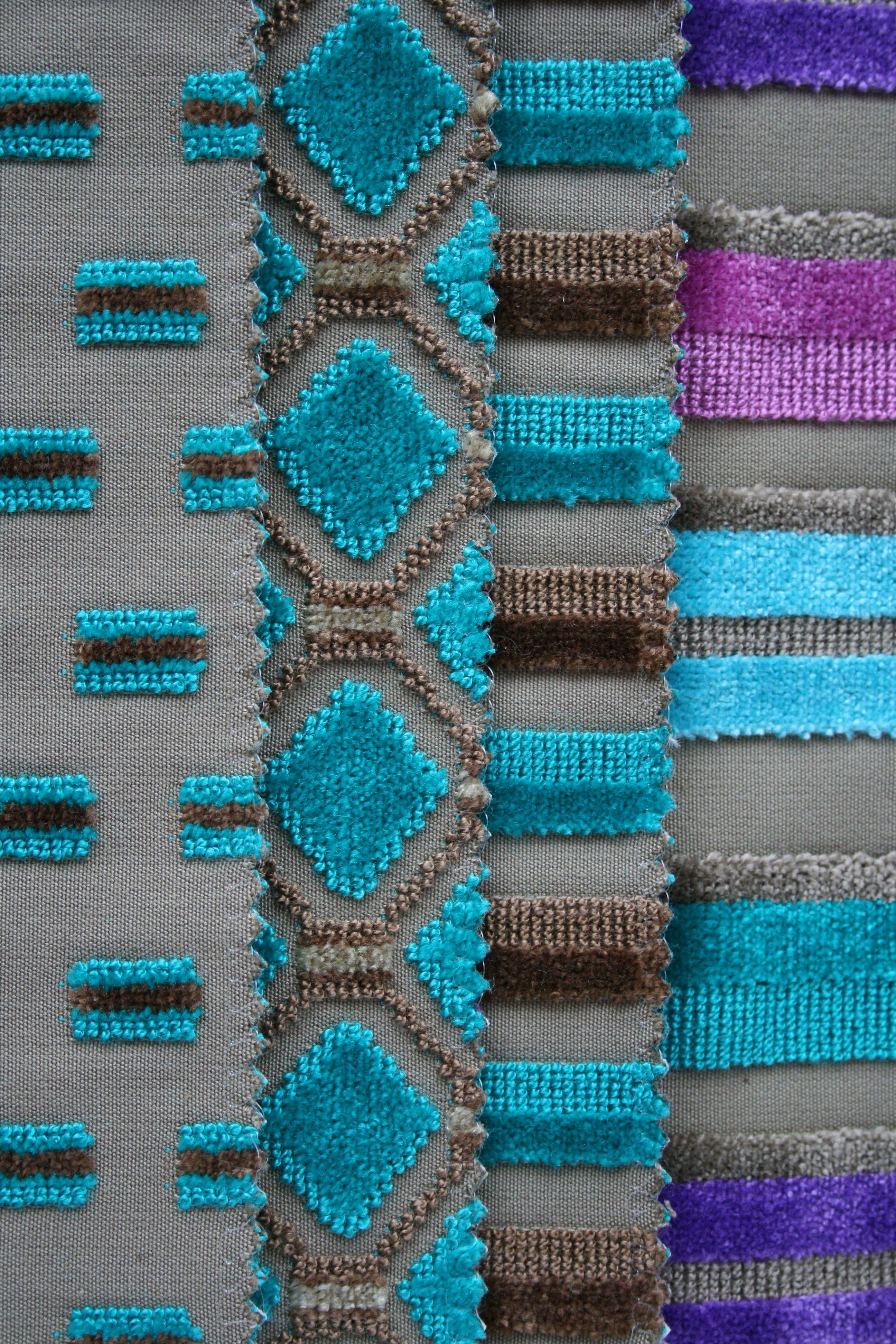 Casamance telas ideales de dibujo peque o ideal para - Telas originales para tapizar ...