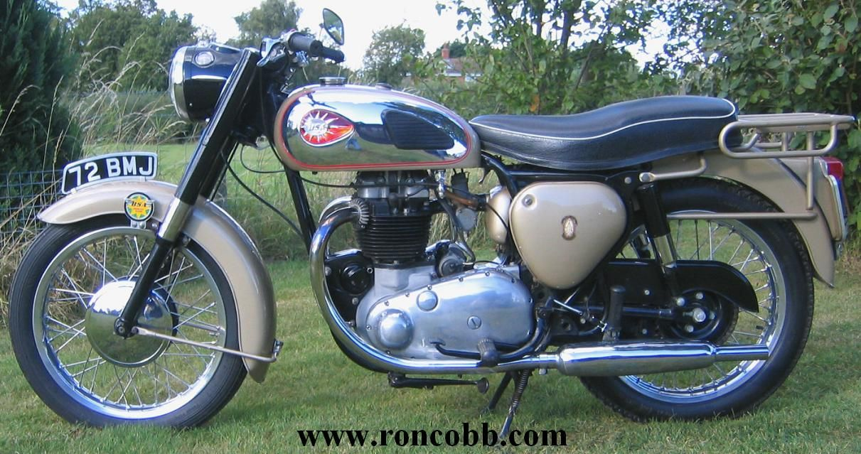 1960 BSA 650 Golden Flash Motorcycle For Sale