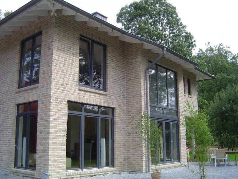 Stadtvilla klinker grau  FARO , grau-bunt – Röben Tonbaustoffe GmbH | Hausfassade ...