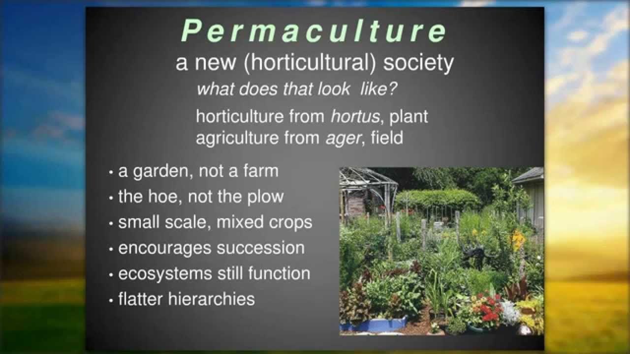 Toby Hemenway S Webinar For The Ecological Landscaper Immersion Program Permaculture Farm Gardens Landscape