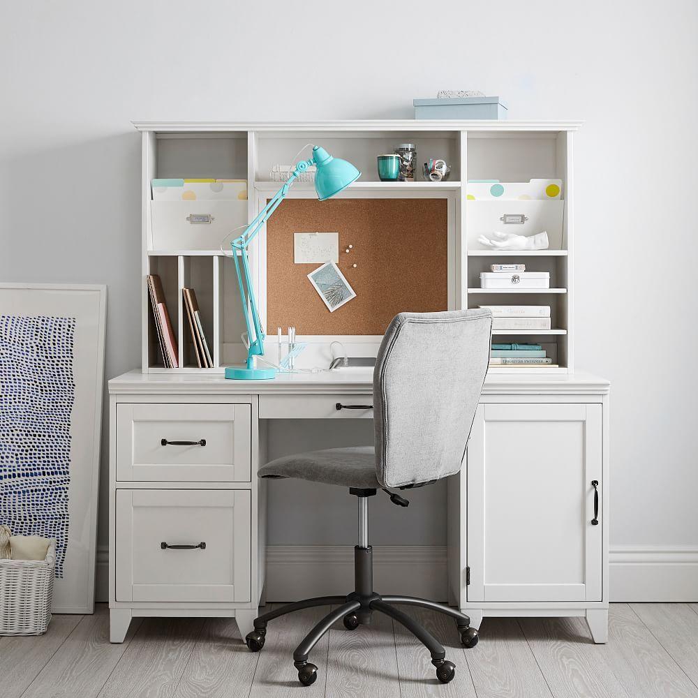 Hampton Smart Storage Desk Desk, Desk storage, Smart desk