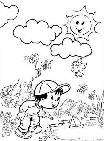 coloriage coloriage petit garçon pinterest coloriage dessin
