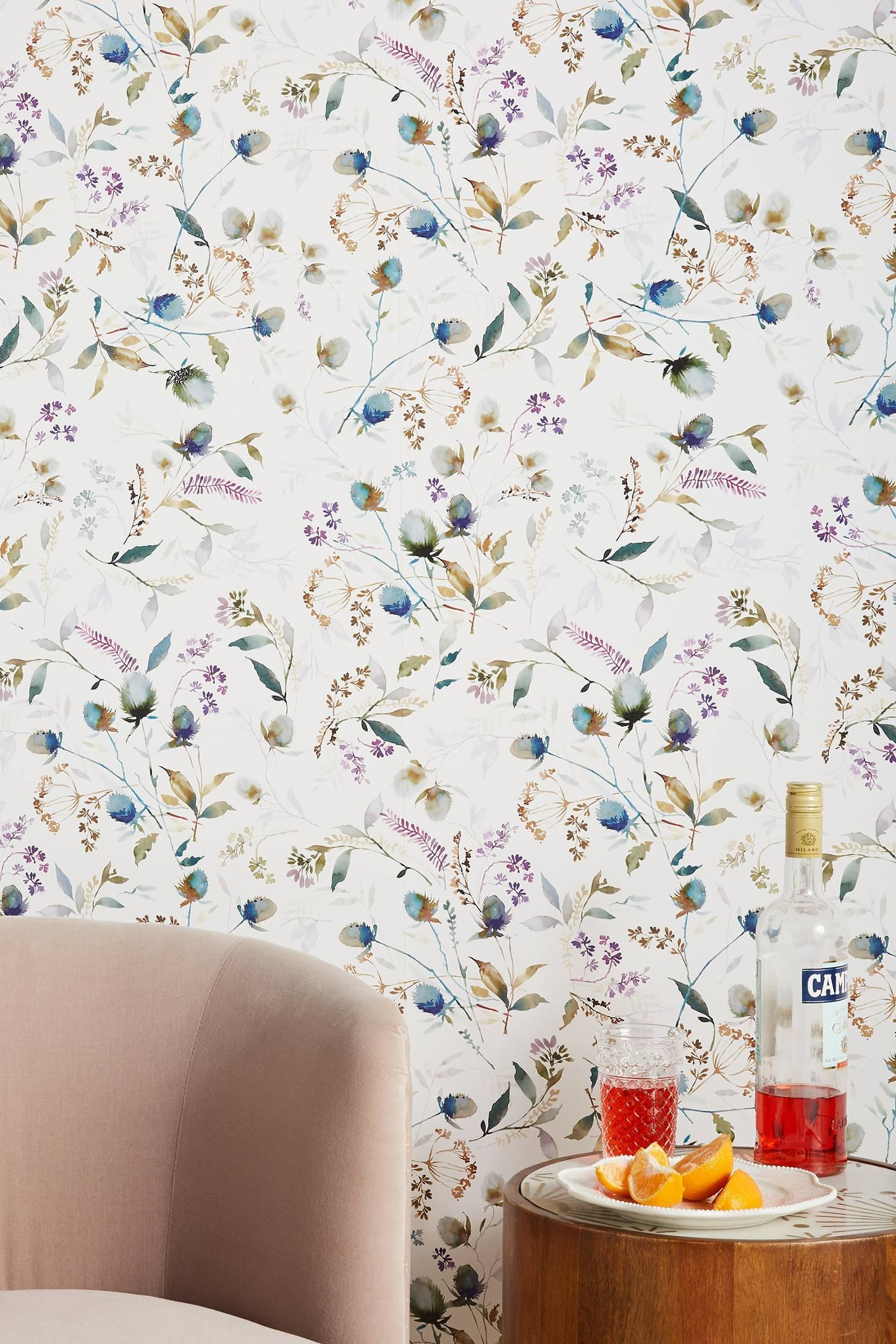 Anthropologie Cillian Wallpaper Anthropologie Floral Wallpaper Wallpaper Manufacturers Wall Coverings