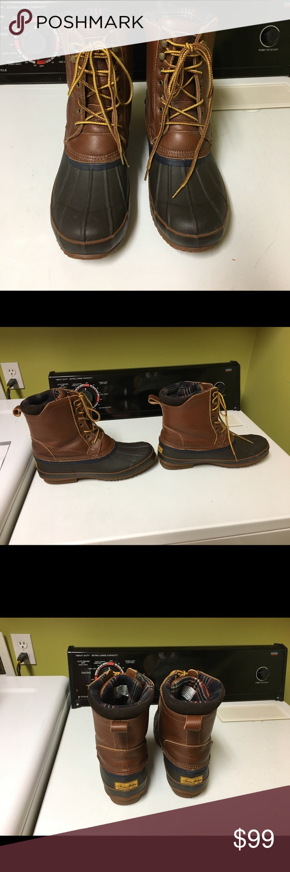 017a6366984 Brooks Brothers Lined Duck Boots! Men s Size 12 Lined Brooks Brothers Duck  Boots - Perfect for Fall! Brooks Brothers Shoes Boots