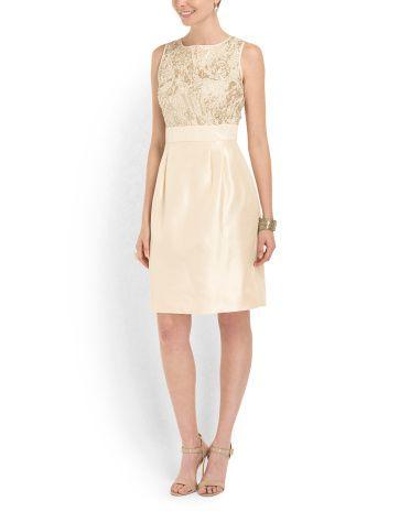 image of Sleeveless Cocktail Dress | FASHION: dress/formal ...