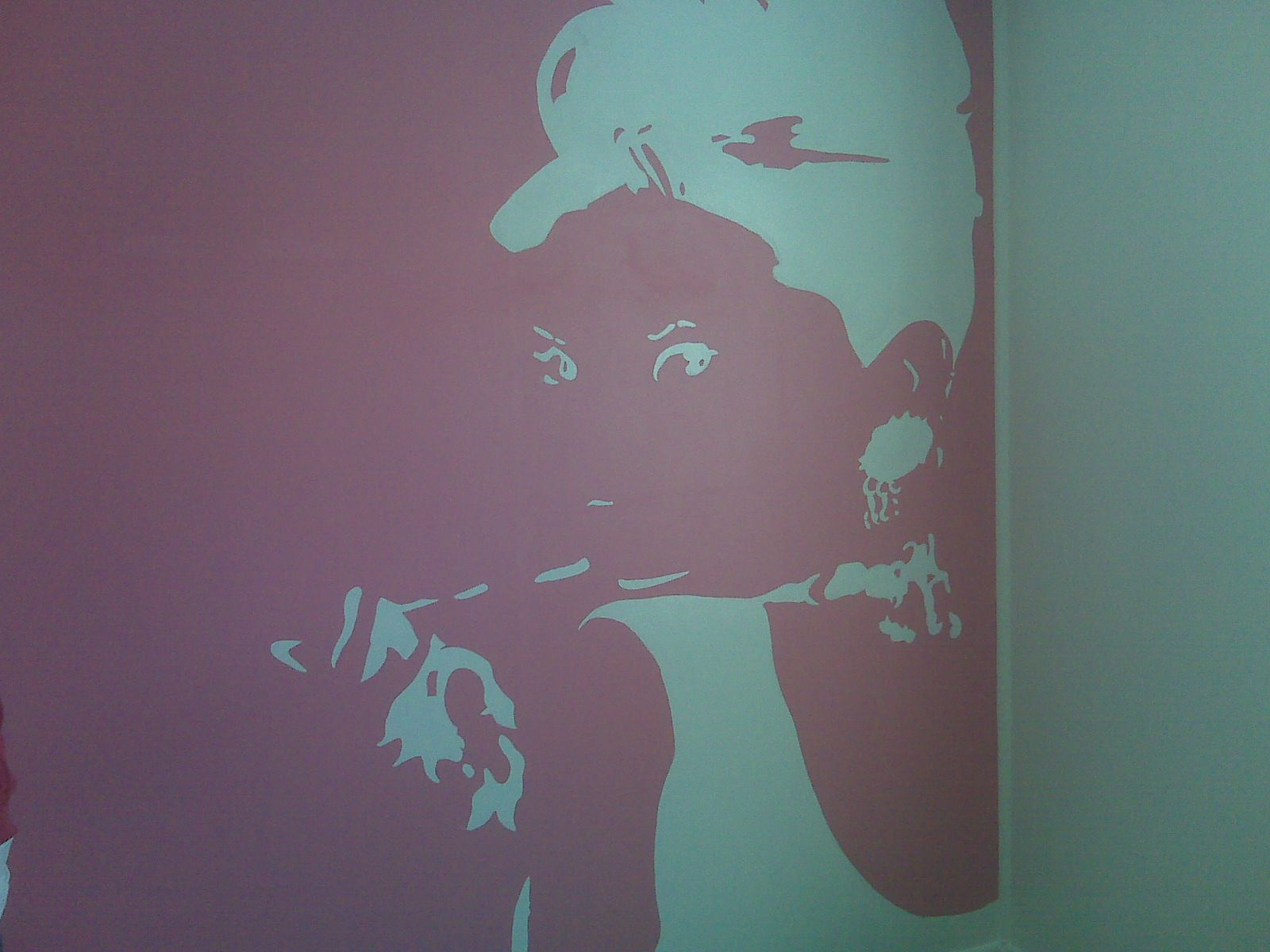 Audrey Hepburn Mural   Been There.... Done That!   Pinterest ...