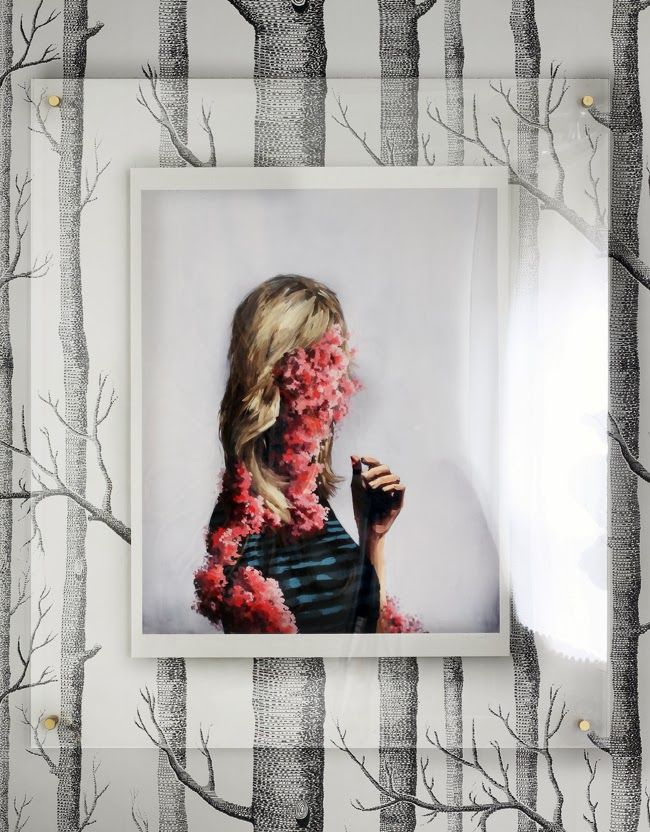 DIY(ish) Large Acrylic Wall Frame | Pinterest | Interiors, Walls and ...