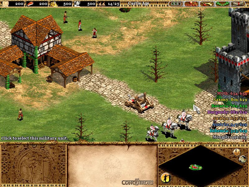 Age Of Empires 2 The Age Of Kings Screenshot Igrovoj Dizajn Dizajn