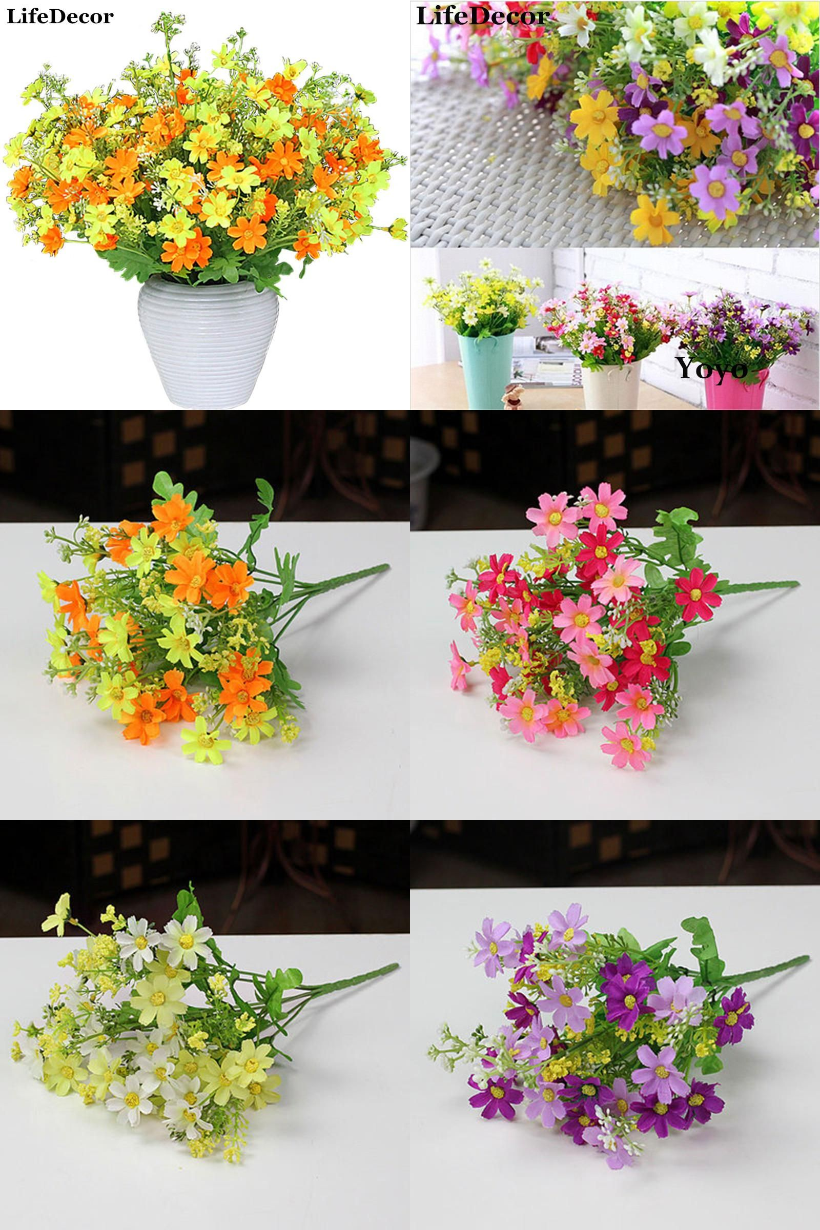 Visit To Buy Silk Artificial Flowers For Wedding Home Decoration 28