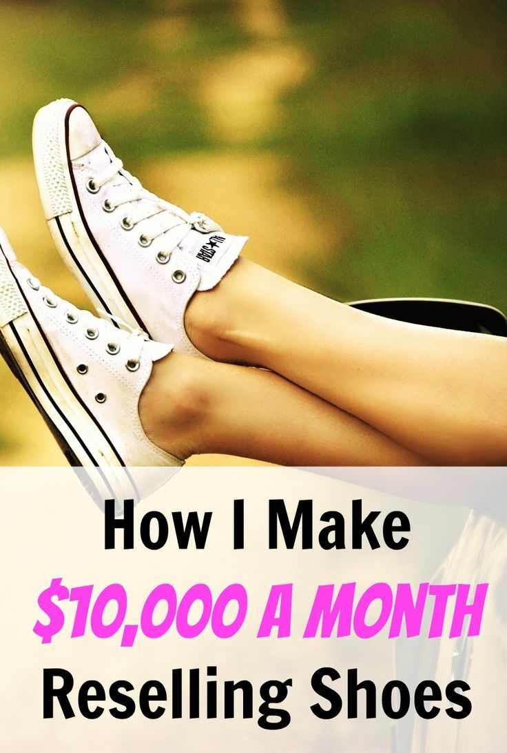 How To Make Money On Shoes