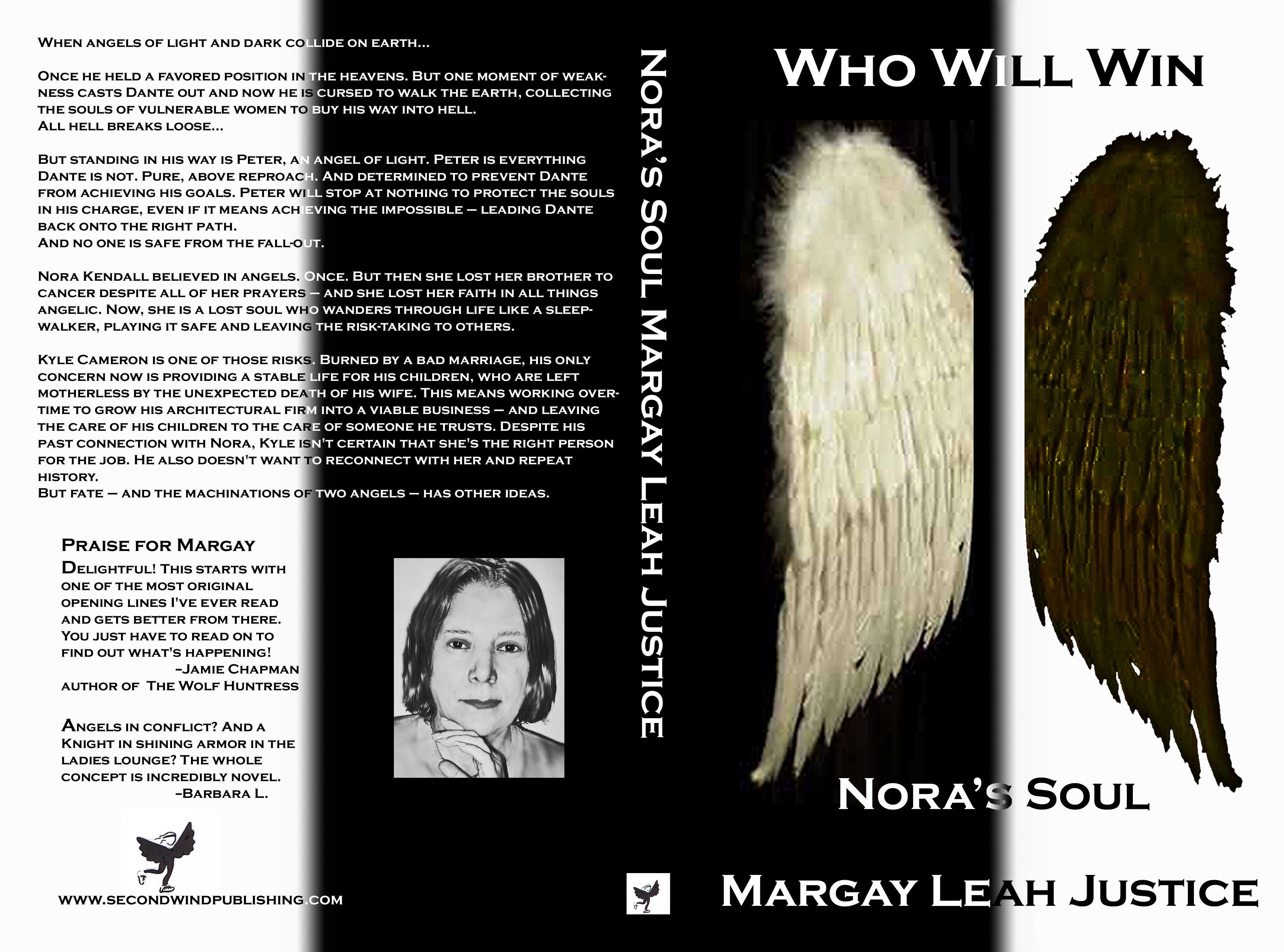 Margay Leah Justice's Nora's Soul - Original Cover 2008 Order your own cover:  http://suzettevaughn.wix.com/suzettevaughn#!author-advice--assistance/c22hz