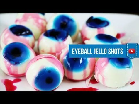 Vodka Eyeball Jello Shots for Halloween - How to make by Drink Lab (Popular) - YouTube #halloweenjelloshots Vodka Eyeball Jello Shots for Halloween - How to make by Drink Lab (Popular) - YouTube #halloweenjelloshots