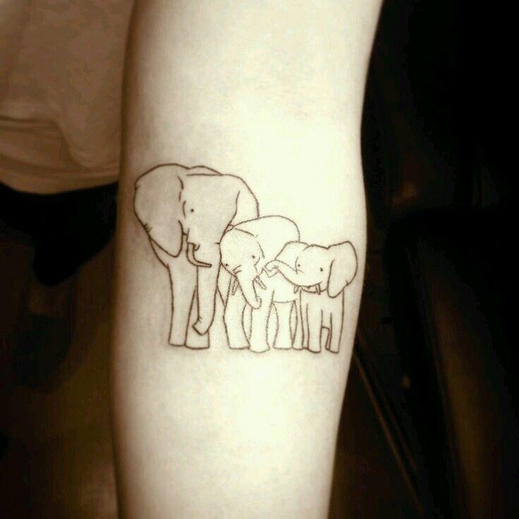 Too Cute Tattoo Ideas Tatouage Tatouage Elephant Tattoo Elephant