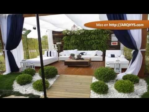 patios de casas modernas casas hermosas pinterest
