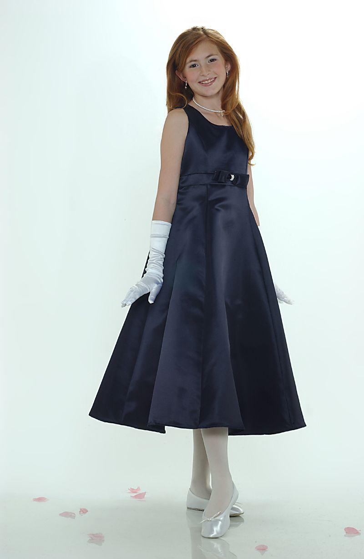 2bf190bd49 5056NV - Flower Girl Dress Style 5056- SALE! Navy Blue Size 4 or 6 - See  All Dresses - Flower Girl Dress For Less