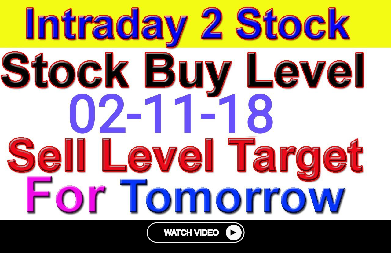 Intraday Trading Stock Tips For Tomorrow Strong Level In Hindi