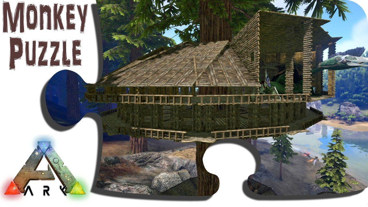 Ark Advanced Building Redwood Tree Platform Treehouse Update