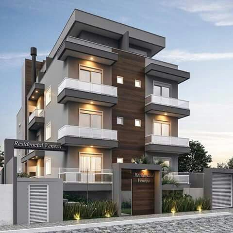 Home Design Small Apartment Building Facade House Apartment