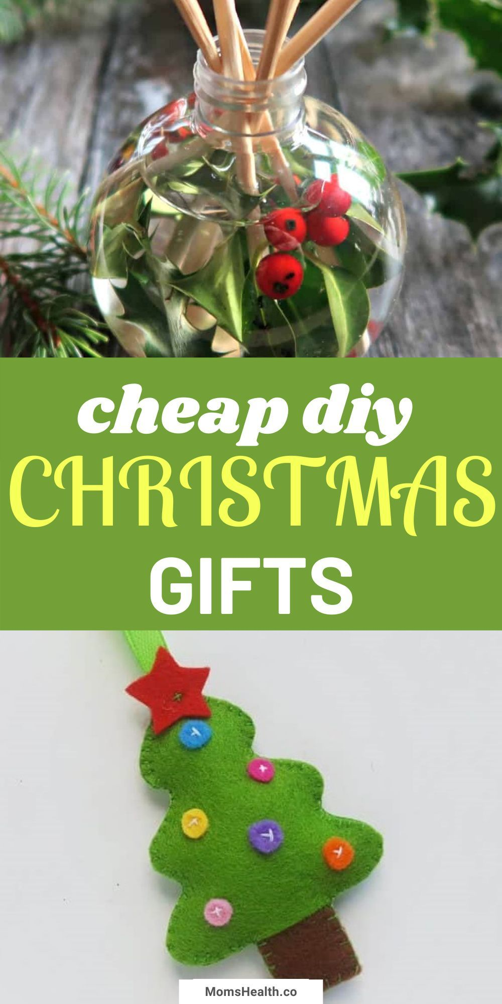 Cheap Diy Christmas Gift Ideas Creative Homemade Gifts For Everyone In 2020 Cheap Christmas Crafts Diy Christmas Gifts Cheap Christmas Diy