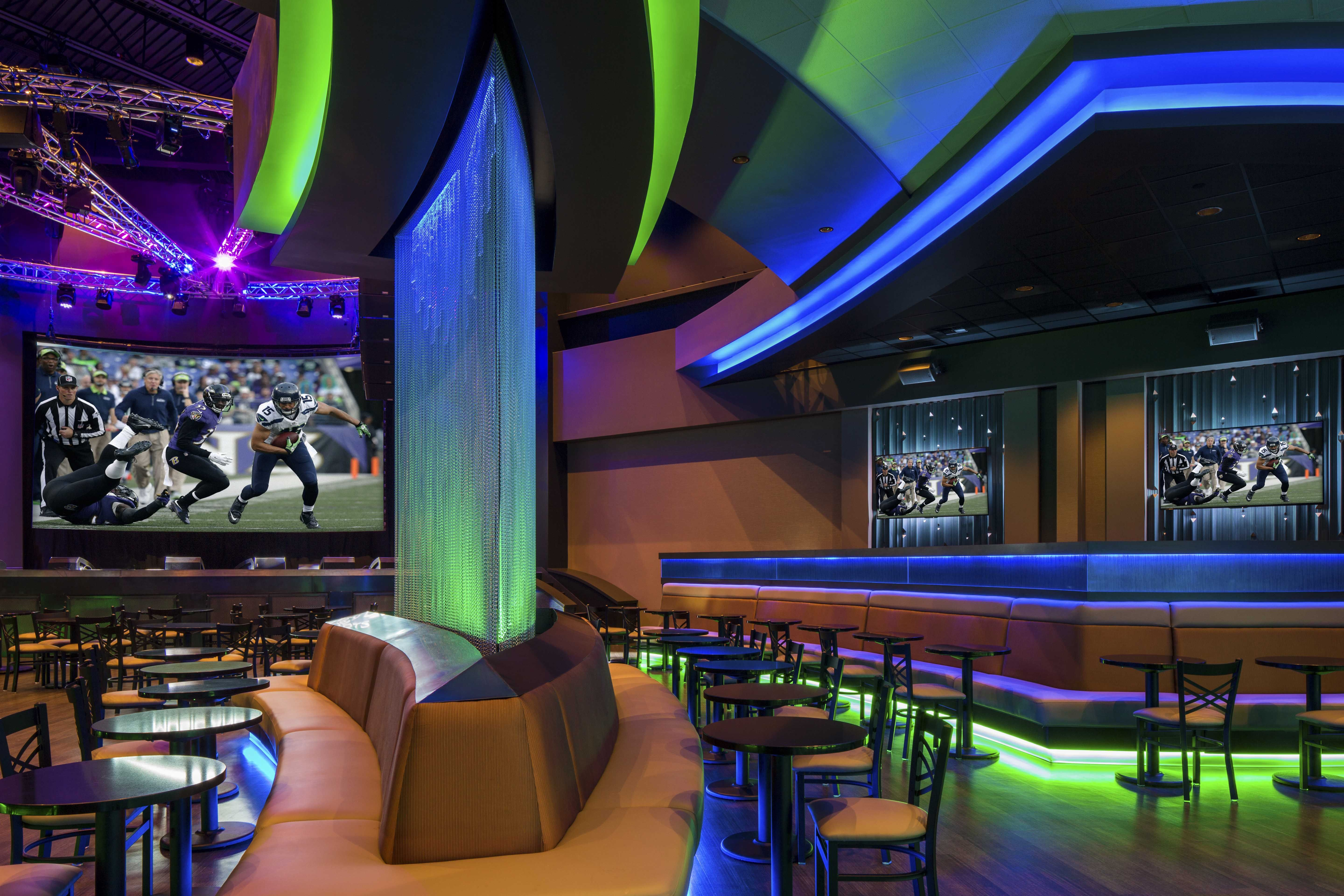 Design Created A Casino Lounge And Construction Plan For The New Beach Rock At Clearwater