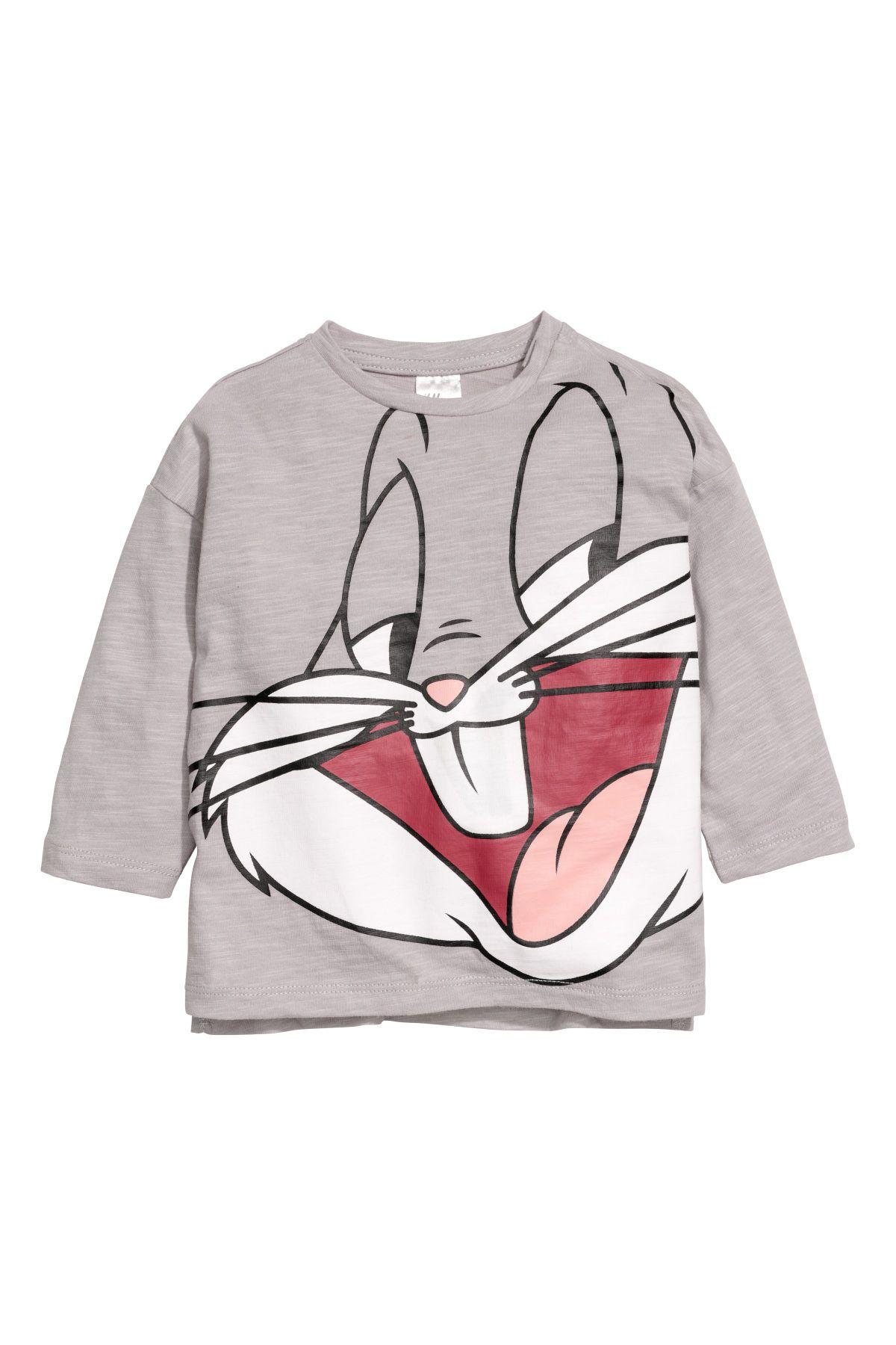 72ad425425f 2 camisetas de manga larga | Topo/Looney Tunes | NIÑOS | H&M MX ...