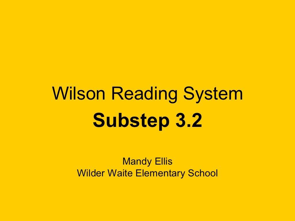 Wilson 3 2 By Clynch14 Via Slideshare