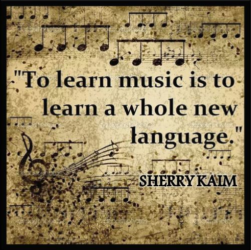 To #learn music is to #learn the whole new #language