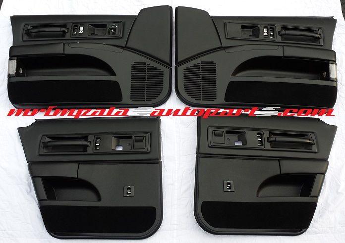 94-96 Impala SS Door panel set in custom all black  **BUILT
