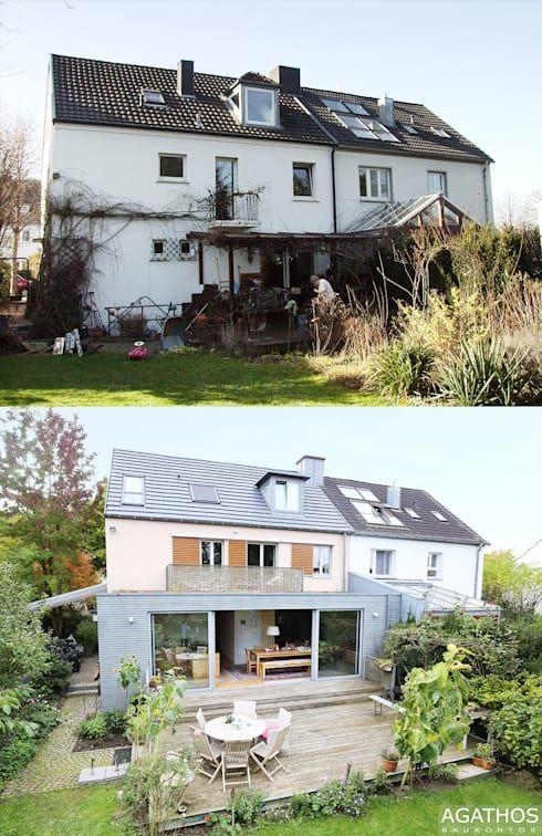 Vorher/Nachher: Einfamilienhaus erhält Sanierung und ...