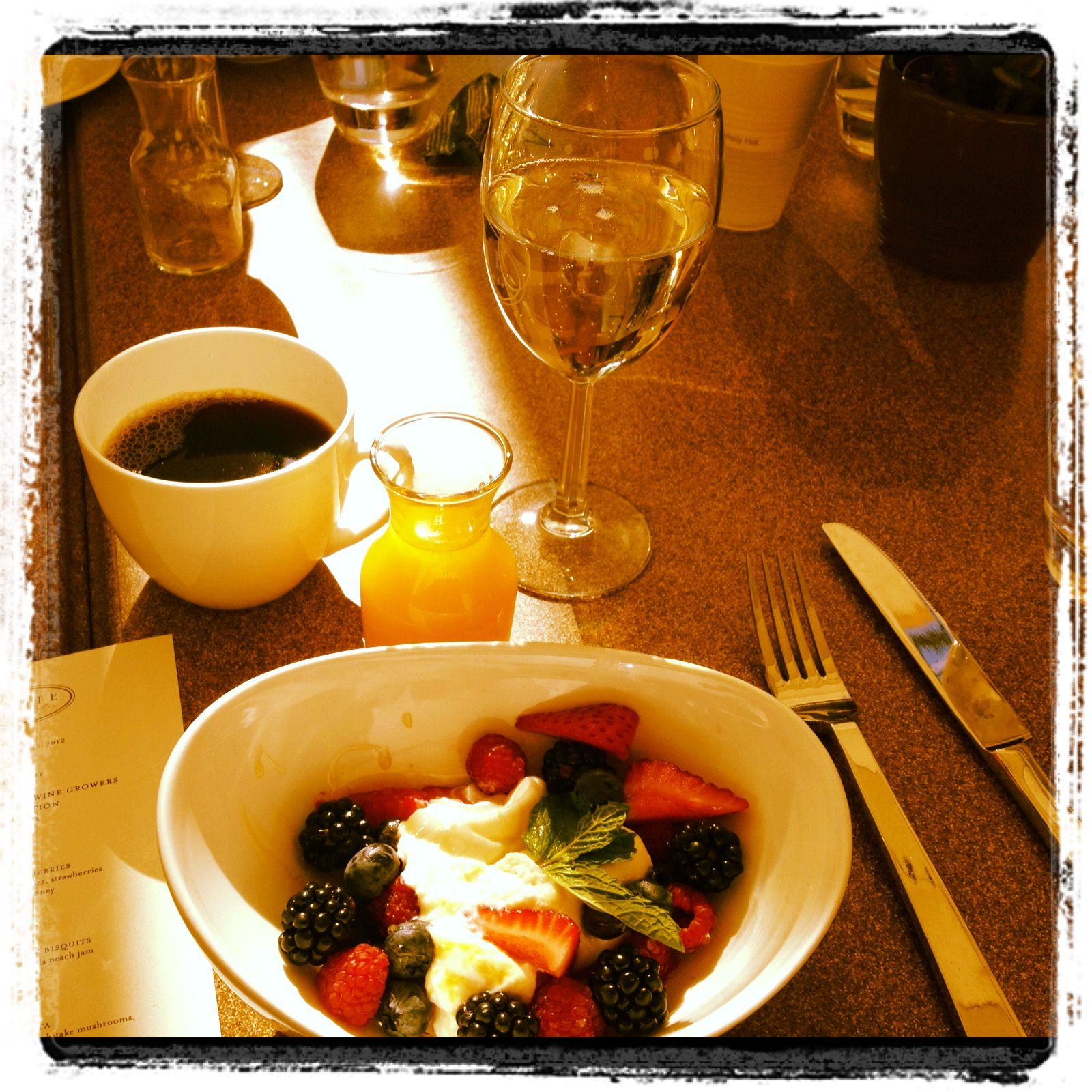 Delicious farm-to-table breakfast @PonteWinery #temeculawine