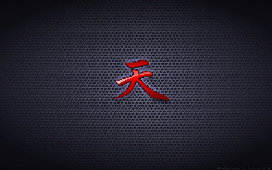 Wallpaper Akuma Gouki Ten Logo By Kalangozillaiantart On