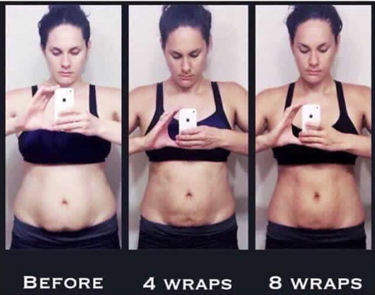 The Ultimate Body Applicator Wraps Tighten Tone and Firm in as