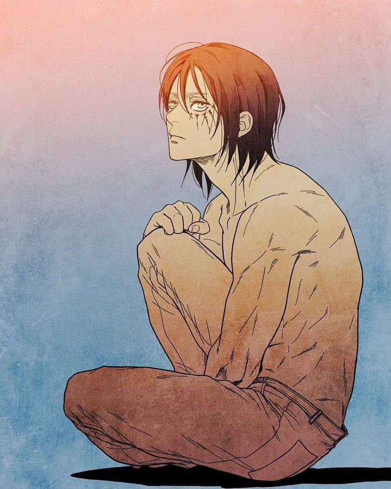 Long Hair Eren Jaeger Erenjaeger Boy Guy Aot Snk Attackontitan Shingekinokyojin Anime Long Hair L Attack On Titan Anime Attack On Titan Art Anime