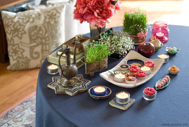 Little Haft Sin - Haft Sîn (Persian: هفت سین‎) or the seven 'S's is a major traditional table setting of Nowruz, the traditional Iranian spring celebration. The haft sin table includes seven items starting with the letter 'S' or Sīn (س) in the Persian alphabet.