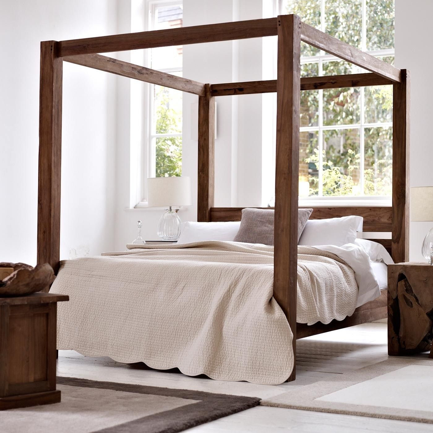 Four Poster Bed New House Bed Four Poster Bed Bedroom